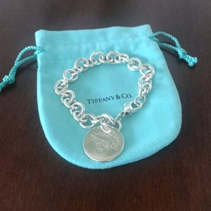 Return to Tiffany Circle Tag Charm Bracelet